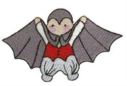 Vampire Costume embroidery design