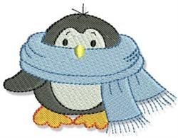 Xmas Penguin embroidery design