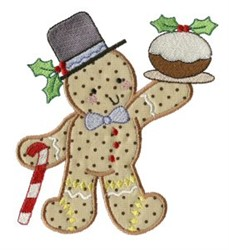 Fruit Cake Gingerbread embroidery design