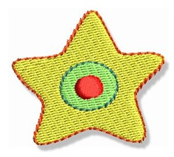 Xmas Star embroidery design