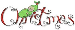 Christmas Baby embroidery design