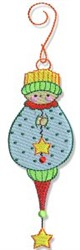 Baby Ornament embroidery design