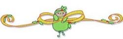 Baby Bow embroidery design