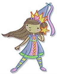 Cute Princess embroidery design
