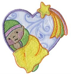 Baby Heart embroidery design