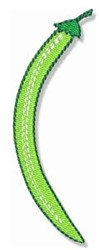 Green Bean embroidery design
