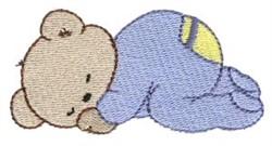 Teddy Bear Dreamer embroidery design