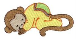 Monkey Dreamer embroidery design