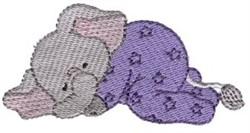Elephant Dreamer embroidery design