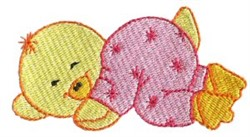Ducky Dreamer embroidery design