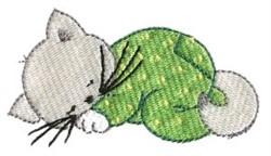Kitten Dreamer embroidery design