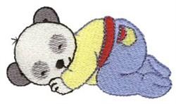 Panda Bear Dreamer embroidery design