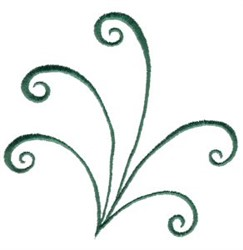 Elegant Swirls embroidery design