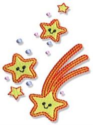 Fairy Stars embroidery design