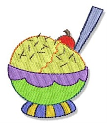 Birthday Ice Cream embroidery design