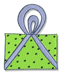 Birthday Present embroidery design