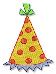 Birthday Party Hat embroidery design