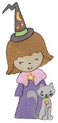 Little Stars Wizard embroidery design
