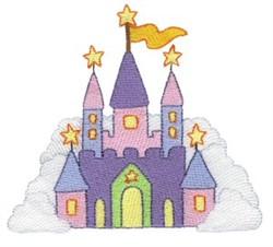 Little Stars Castle embroidery design