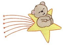 Little Stars Teddy Bear embroidery design