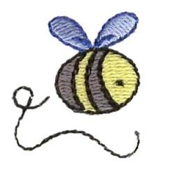 Mini Bumblebee embroidery design