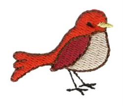 Mini Cardinal embroidery design