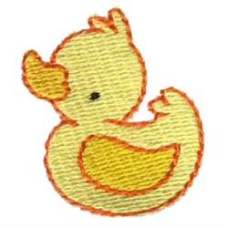 Mini Duck embroidery design