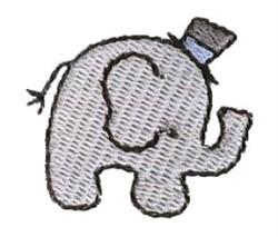 Mini Elephant embroidery design