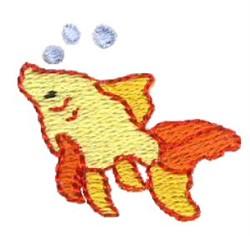 Mini Goldfish embroidery design