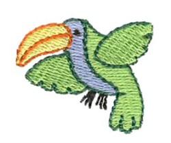 Mini Toucan embroidery design