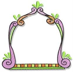 Fun Frame embroidery design