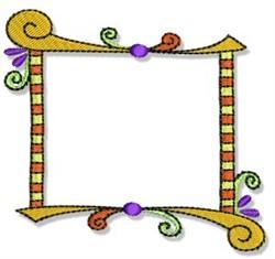 Fun Decorative Frame embroidery design