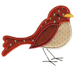 Sweet Bird Applique embroidery design