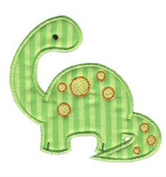 Sweet Dino Applique embroidery design