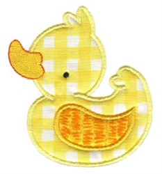 Sweet Duck Applique embroidery design