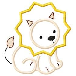 Sweet Lion Applique embroidery design