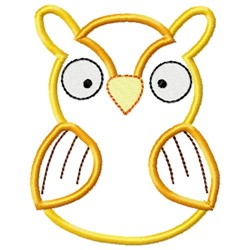 Sweet Owl Applique embroidery design