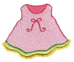 Pajama Party Nighty embroidery design