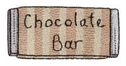 Pajama Party Chocolate Bar embroidery design