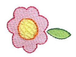 Pajama Party Flower embroidery design