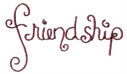 Pajama Party Friendship embroidery design