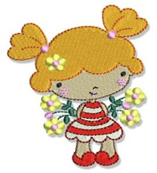Spring Cutie embroidery design