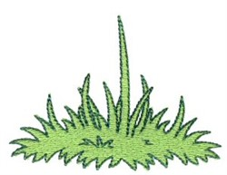 Grass Accent embroidery design