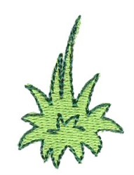 Grass Clump Accent embroidery design