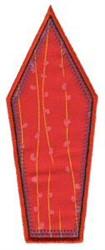 Birdhouse Applique Patch embroidery design