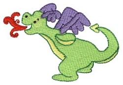 Cute Daring Dragon embroidery design