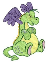 Daring Dragon embroidery design