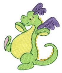 Adorable Daring Dragon embroidery design