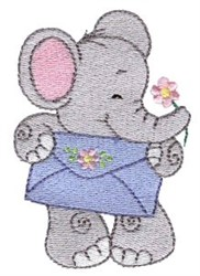 Little Nellie & Envelope embroidery design