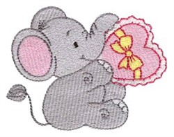 Little Nellie & Heart embroidery design